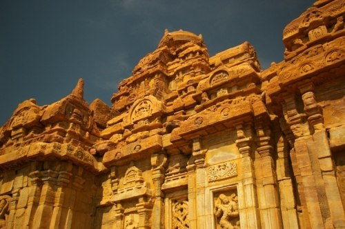 A temple in Pattadakall